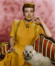 Joan loved dogs!  Dachshunds were her favorite at first, later on switching to poodles.