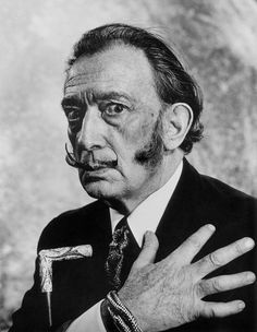 SALVADOR DALI....1964.....PHOTO BY PHILIPPE HALSMAN........ON MAGNUM PHOTOS..............