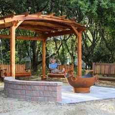 The pergola kits are the easiest and quickest way to build a garden pergola. There are lots of do it yourself pergola kits available to you so that anyone could easily put them together to construct a new structure at their backyard. Pergola Cost, Garage Pergola, Building A Pergola, Small Pergola, Pergola Canopy, Pergola Swing, Pergola Attached To House, Deck With Pergola, Cheap Pergola