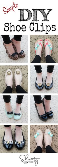 Shoe Clips tutorial