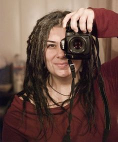 Great blog posts on the soul journey of dreads + technical how to. Mature women