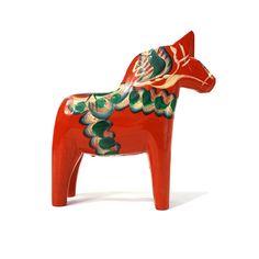 Scandinavian Dala Horse  5.25 Tillv. G.A. by othernessdesign, $29.00