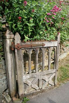 A Weathered Wooden Gate