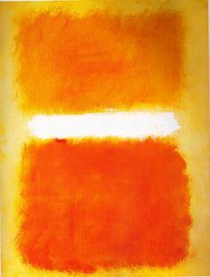 dailyrothko: Mark Rothko, Acrílico sobre papel, 1968
