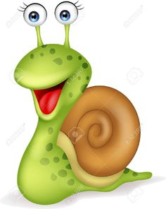 Smiling Snail Cartoon Royalty Free Cliparts, Vectors, And Stock Illustration. Pic 18047066.
