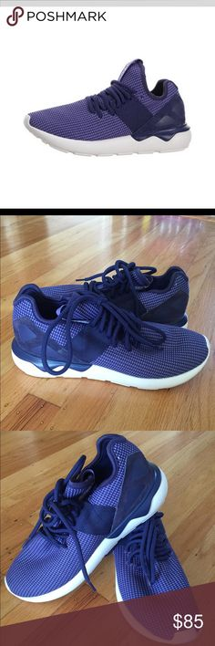 ADIDAS TUBULAR RUNNER PURPLE WHITE WOMEN New without box adidas Shoes Sneakers