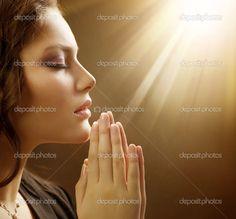 Christian Women Praying | Praying Woman | Stock Photo © Anna Subbotina #10605347
