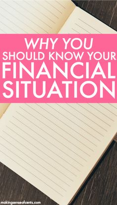 Everyone should be aware of their financial situation. Not only is it just helpful to know, there are also many great benefits of being aware.