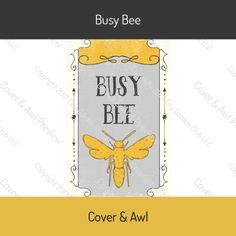 Busy Bee Sticker Sheet