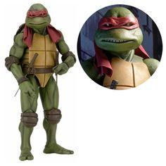 Teenage Mutant Ninja Turtles Movie Raphael 1:4 Scale Figure - NECA - Teenage Mutant Ninja Turtles - Action Figures at Entertainment Earth