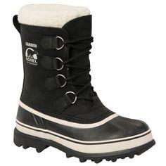 Sorel - Women's Caribou Winter Boots - Black/Stone