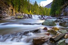 10. McDonald Falls Travel With Kids, Us Travel, Printable Animal Pictures, Beautiful Places To Visit, Montana, Natural Beauty, Waterfall, National Parks, Nature