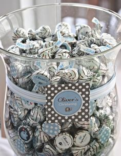 Items similar to ELEPHANT - Printable Candy Stickers - Baptism, Christening, Dedication, Communion - DIY Elephant Christening Collection - by Make Life Cute on Etsy Christening Party, Baptism Party, Baby Party, Baby Boy Baptism, Baby Boy Shower, Baby Showers, Ideas Bautizo, Baptism Favors, Baptism Ideas