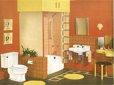 24 pages of vintage bathroom design ideas from Crane -- 1949 catalog - Retro Renovation
