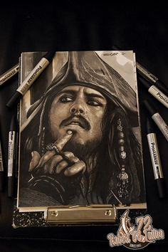 Jack Sparrow with ProMarker