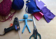 Panenka z vlny – návod na výrobu – Školní svět Blog, Packaging, Baby Dolls, Blogging