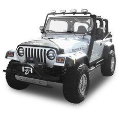 Fortec Custom Jeeps, Inc. - Jeep Parts & Accessories :: Photo Gallery :: 1997-06 Jeep Wrangler TJ & Unlimited Custom Jeep Conversions :: RAIDER Edition