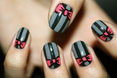 Bow & Stripes