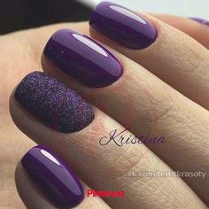 60 Trendy Ideas For Purple Nail Art Designs You Must Try - fashonails How to apply nail polish? Nail polish on your friend's nails looks perfect, however y Nail Art Violet, Purple Nail Art, Purple Nail Designs, Acrylic Nail Designs, Nail Art Designs, Dark Purple Nails, Purple Makeup, Purple Gel Nails, Black Nails