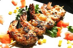 Cajun Shrimp Kabobs | HCG Recipes