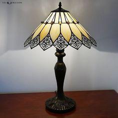 tiffany tafellamp quebec art deco