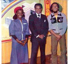 Bob Marley and Rita Marley
