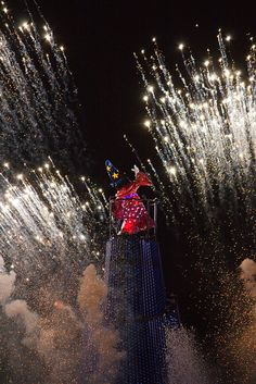 Day 3: after dinner, we're hopping over to Disney's Hollywood Studios to finish the day off by watching Fantasmic