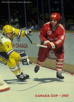 Canada Cup 1987 #canadacup #hockey #vladimirkrutov