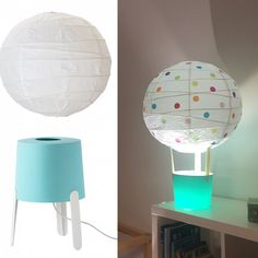 mommo design: IKEA LAMPS HACKS