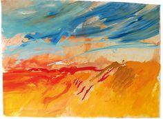 Ana Sério Reflexo (turvo) da Luz #1, 2015, 103x140cm #AnaSério #Artist #Art #Oil #Painting #Color #Portugal #Gallery #SaoMamede #Artwork