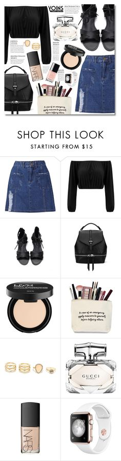 """Say Yes To New Adventures - yoins"" by elizabeth4ever ❤ liked on Polyvore featuring LULUS, Gucci, NARS Cosmetics, yoins, yoinscollection and loveyoins"