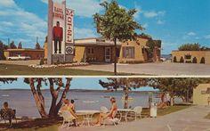 Paul Bunyan Motel - Bemidji, Minnesota Postcard
