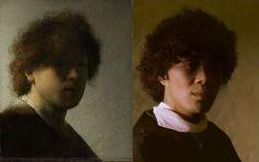 Young Rembrandt Self-Portrait by Rembrandt van Rijn (1606-1669) – vanGo'd by CheyneGallarde | VanGoYourself