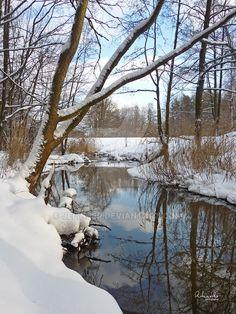 Nullah by jelinjer on DeviantArt Winter Magic, Winter Snow, Beautiful World, Beautiful Places, Winter Painting, Winter Scenery, Snow Scenes, Winter Photos, Wild Nature