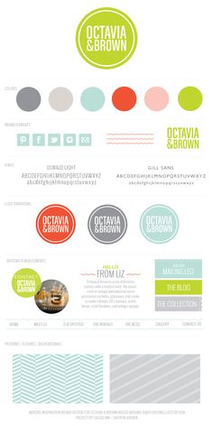 {Salted Ink Digital Design Co.} JUL 20, 2013 – New Brand Launch: Octavia & Brown → http://saltedink.com/2013/07/20/new-website-launch-octavia-brown