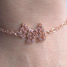 Sparkly Westie Summer Bracelet