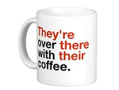 Grammar Geek Coffee Mug, Unique Gifts for Geeks and Freaks, MyUntangledLife.com