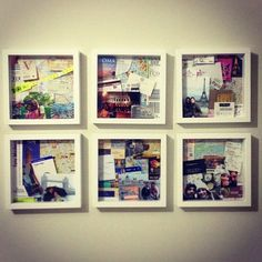 Travel memories, diy. Actually sweet and cool. I want to create this at my own home!