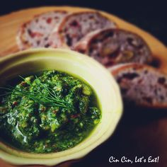 Fennel Frond Pesto [recipe]