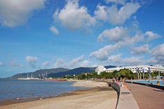 Cairns esplanade- swim in the lagoon/pool, gaze at the ocean, or stroll the walkway between the two