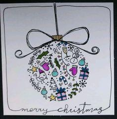 weihnachten zeichnen Simple Christmas cards for kids on a budget - ball decorations - - Christmas Cards Drawing, Simple Christmas Cards, Christmas Doodles, Holiday Cards, Christmas Tree Drawing Easy, Christmas Card Making, Christmas Card Ideas With Kids, Christmas Card Designs, Christmas Drawings For Kids