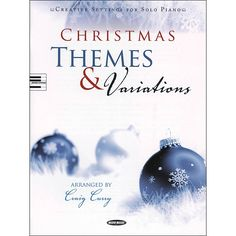 Word Music Christmas Themes & Variations: Creative Settings for Solo P