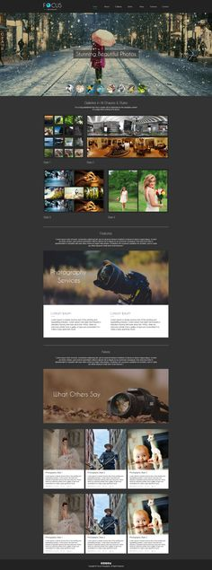 Sell365's Photography Template. One of the best Website Builder in India. Design and customize your own website with our free website templates.