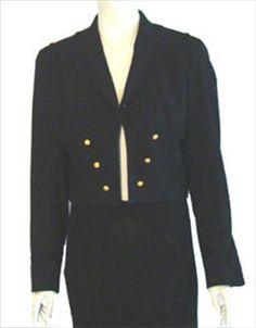 Black Wool Military Style Jacket  $40.00