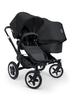 Poussette Bugaboo Donkey Duo All Black