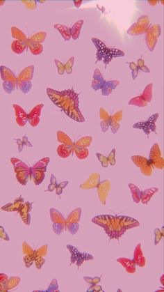 Hippie Wallpaper, Trippy Wallpaper, Retro Wallpaper, Butterfly Wallpaper Iphone, Iphone Background Wallpaper, Wallpaper Desktop, Iphone Wallpaper Tumblr Aesthetic, Aesthetic Pastel Wallpaper, Photo Wall Collage