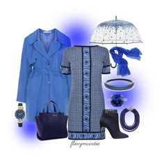 Trench Coat Contest - Entry #2 by florymcintee on Polyvore featuring MICHAEL Michael Kors, Studio, Sergio Rossi, Alexis Bittar, Anne Klein, BaubleBar, Sofia Cashmere and Vera Bradley