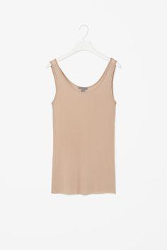 COS | Sheer silk vest top