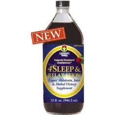 4 Sleep Naturally Promotes relaxation & Sleep Natural Melatonin Juice by Genesis Today 32oz Bottle (Health and Beauty)  http://www.amazon.com/dp/B000N7VUM2/?tag=hfp09-20  B000N7VUM2