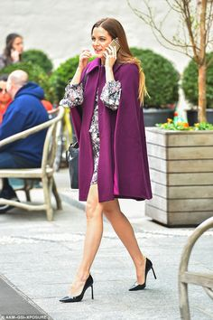Following in footsteps: Riley Keough turned heads as she stepped out in style in NYC on Th...